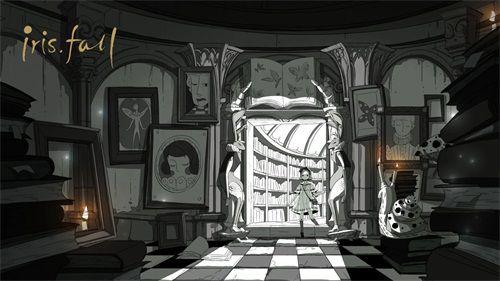 """《彩虹坠入》11月STEAM发售""""黑白""""童话即将上演[多图]图片3"""