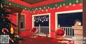 明日之后平民圣诞小屋攻略 平民圣诞小屋设计图图片2