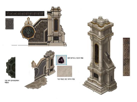黑暗信仰建筑细节曝光,细节中看品质[多图]图片3