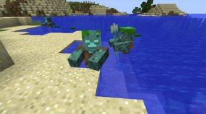 我的世界水鬼是什么?我的世界Drowned(溺尸)介绍图片1