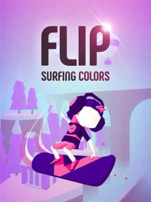 以滑板运动为主题的跑酷手游 Flip Surfing Colors将于近期上架图片2
