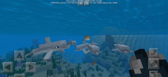 我的世界1.20.1beta发布,新增海豚和海底废墟地图[多图]图片2