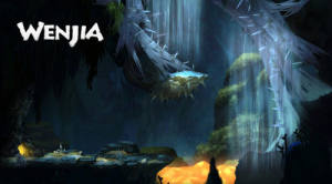WENJIA游戏画面曝光 画风唯美的2D横版平台跳跃类游戏图片3