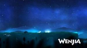 WENJIA游戏画面曝光 画风唯美的2D横版平台跳跃类游戏图片1