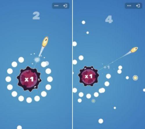 QQ玩一玩火热内测 小游戏引力球一炮而红[视频][多图]图片2