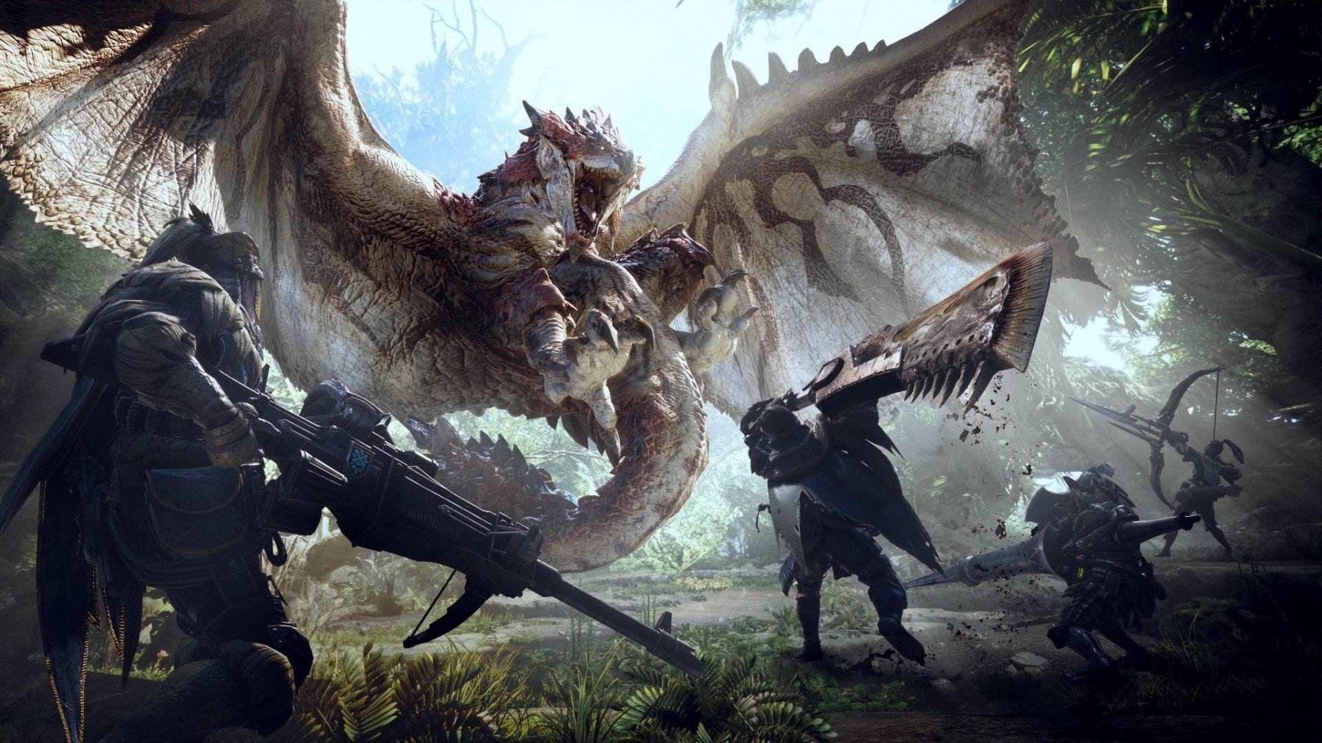 《怪物猎人世界》销量突破790万套![多图]图片1
