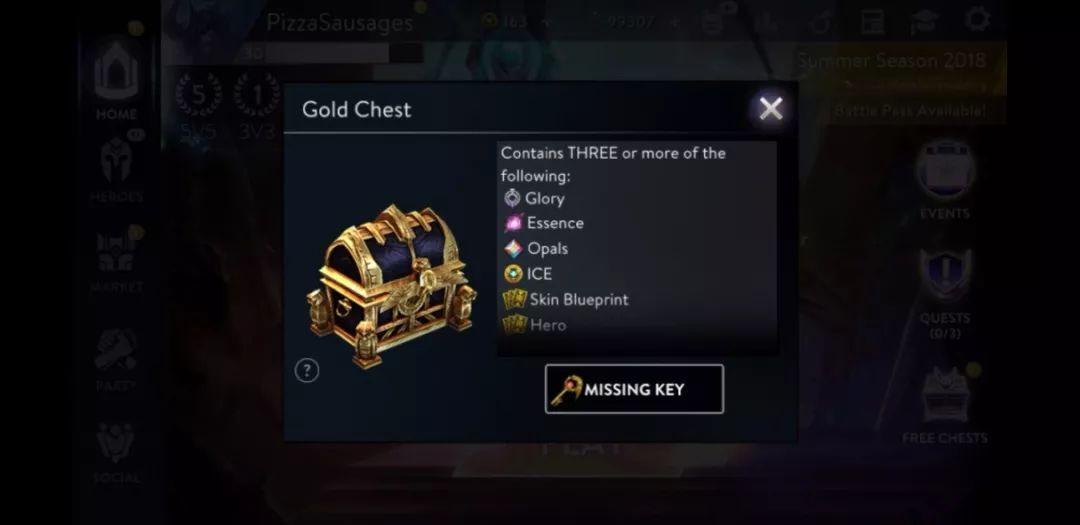 虚荣3.45版本更新:宝箱钥匙上线!宝箱钥匙获得方法[多图]图片4