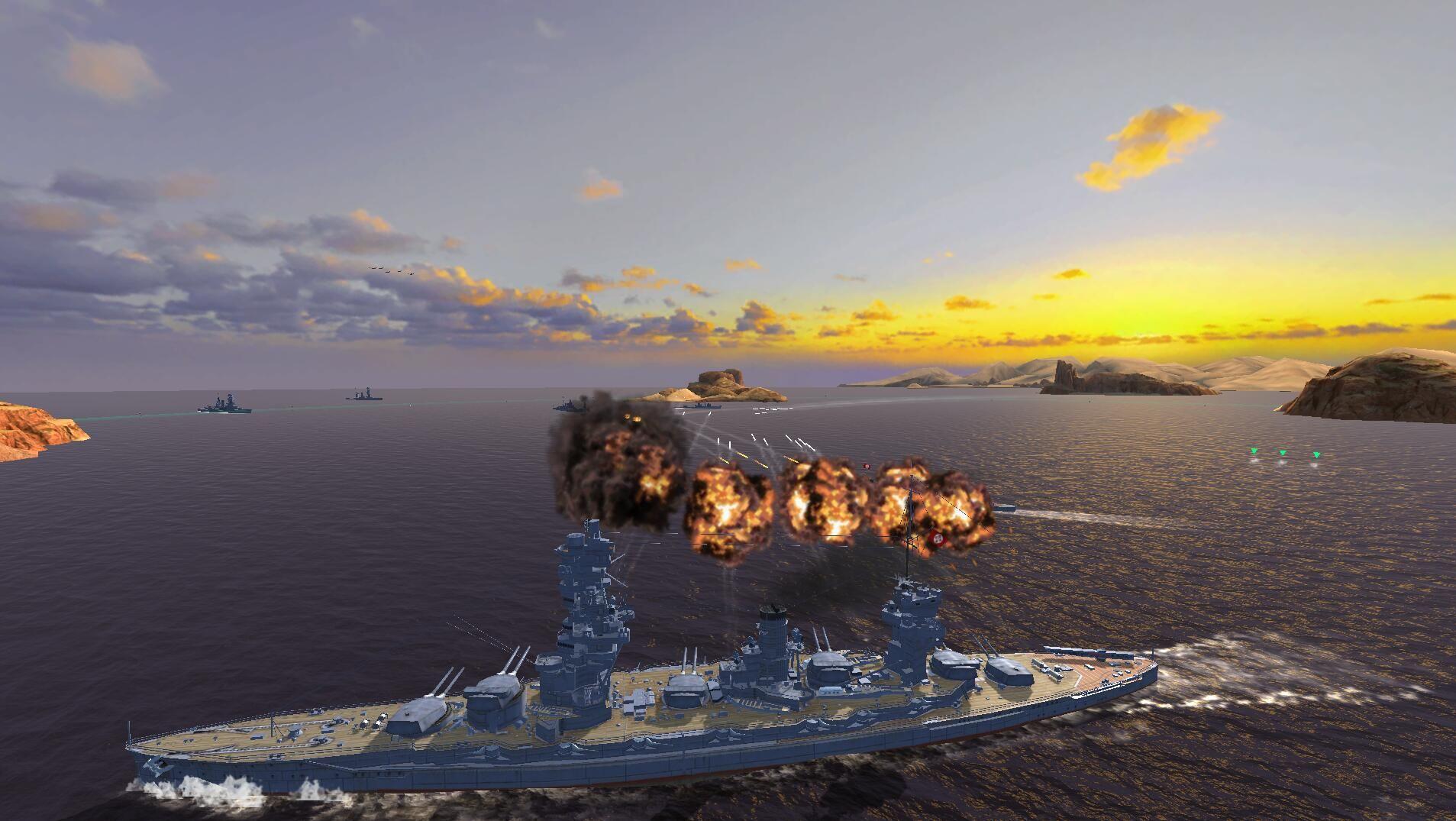 战舰世界闪击战7月12日国服首测开启 正统端游IP续作[多图]图片3