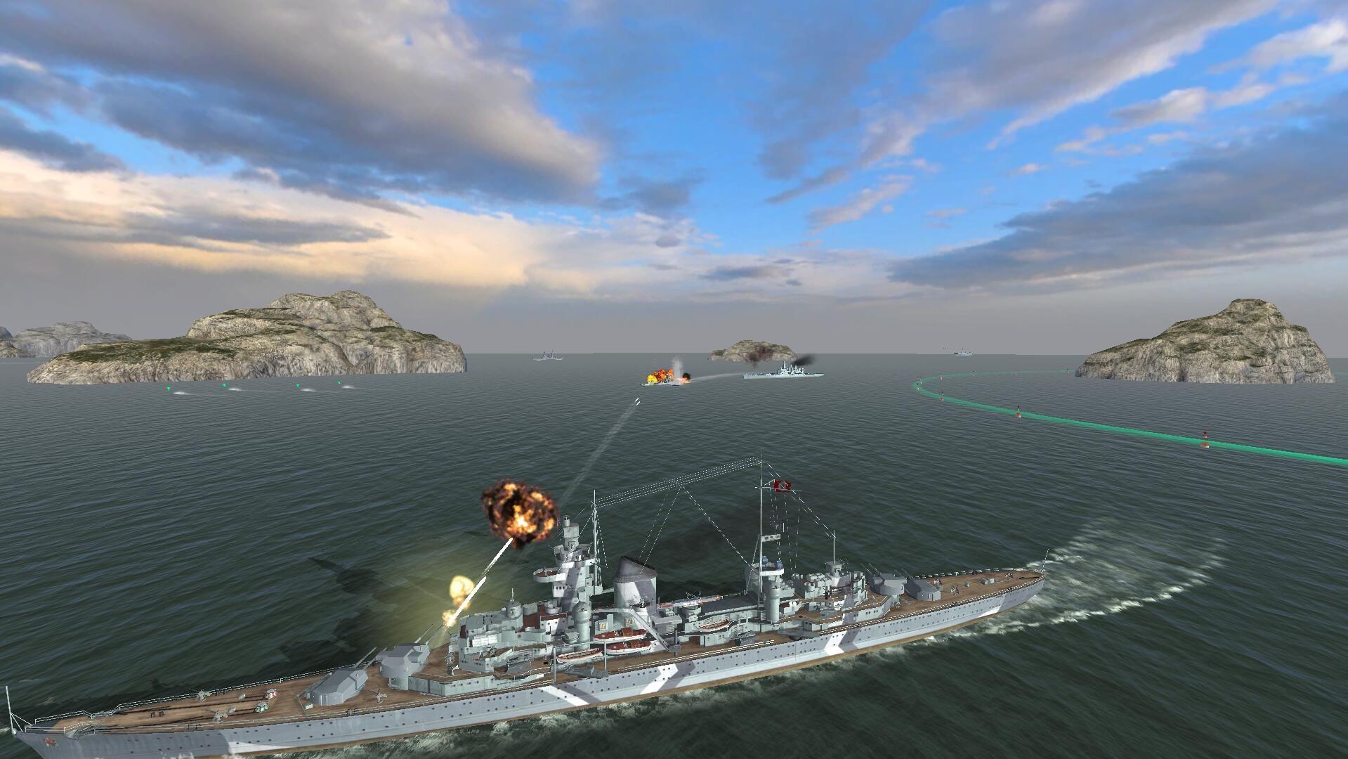 战舰世界闪击战7月12日国服首测开启 正统端游IP续作[多图]图片5