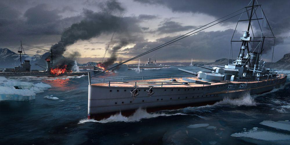 战舰世界闪击战7月12日国服首测开启 正统端游IP续作[多图]图片7