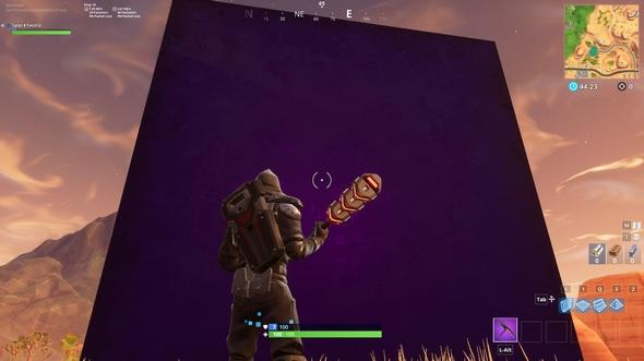 堡垒之夜手游突然出现紫色立方体 能给玩家回盾还能打人哦[多图]图片2