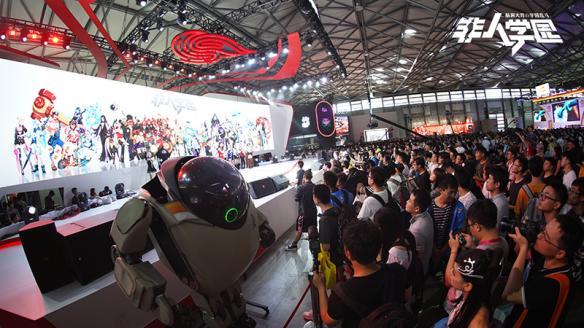 CJ2018非人学园X未来机器城联动 王尼玛站台人气火爆[多图]图片7