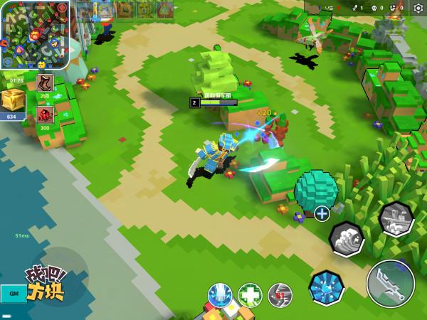 战吧方块9月20日TF首测 像素MOBA游戏来了[多图]图片1