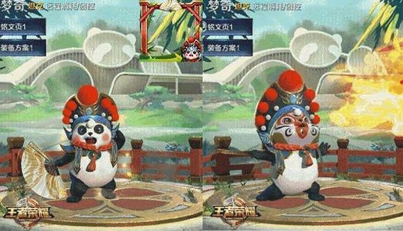 王者荣耀梦奇熊猫皮肤效果预览 身怀变脸和喷火两大绝技[多图]图片6
