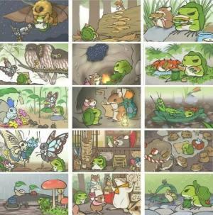 旅行青蛙照片大全,全照片获取条件一览图片2