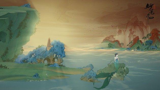 """绘真妙笔千山新增美人鱼鲛姝:曝光画卷""""沧海"""",开启新章节[多图]图片3"""