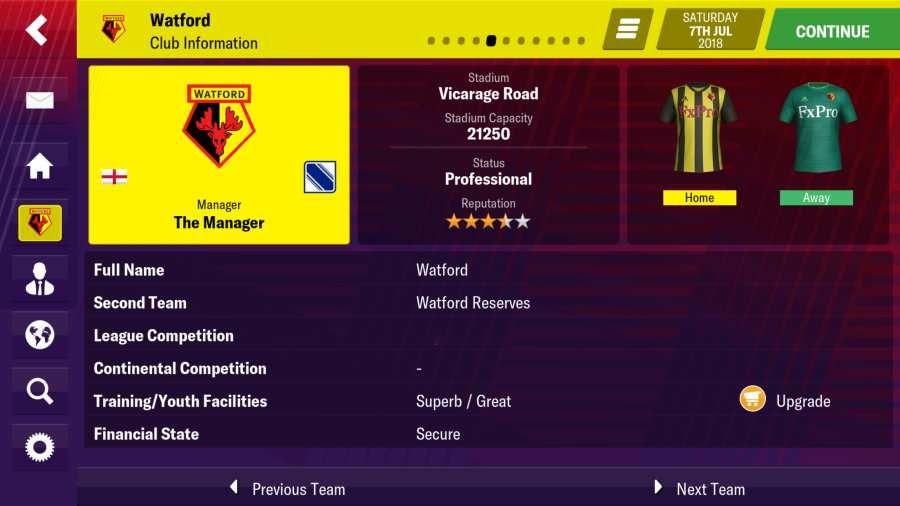 足球经理2019移动手机版中文游戏官方网站下载图4: