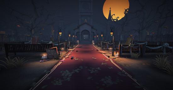 第五人格红教堂地图装修:迎接万圣节,幽灵灯首度亮相[多图]图片1