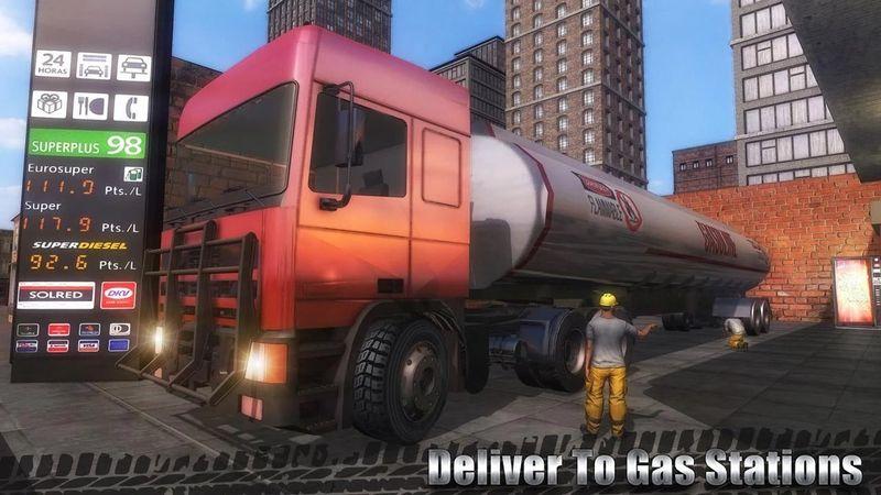 油货运输车游戏中文版下载安卓官方版图1: