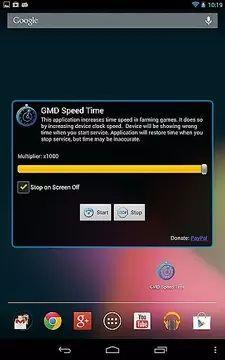 手游变速齿轮安卓5.1.1免root最新版地址(GMD Speed Time)图片1