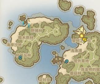 光明勇士黎明海湾探索点在哪里?黎明海湾探索点位置攻略[多图]图片3