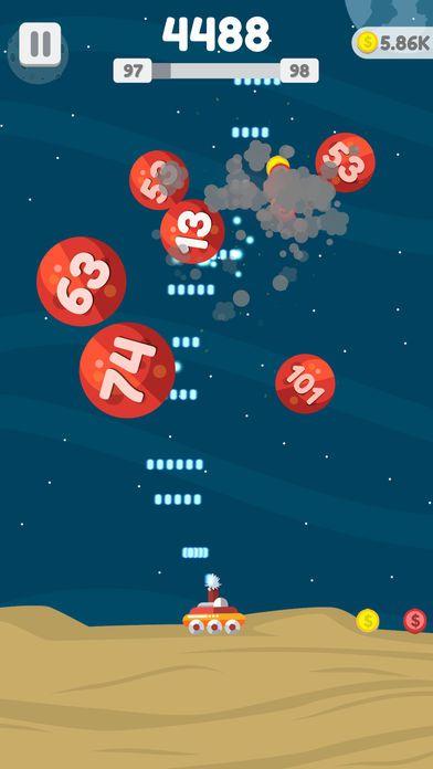 星球大爆炸修改版无限金币加速版下载地址(Planet Blast)图5: