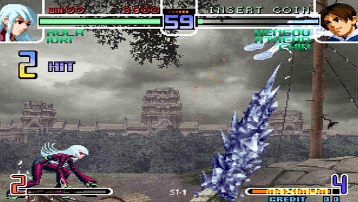 拳皇2002魔幻二全角色隐藏必杀破解版下载图1: