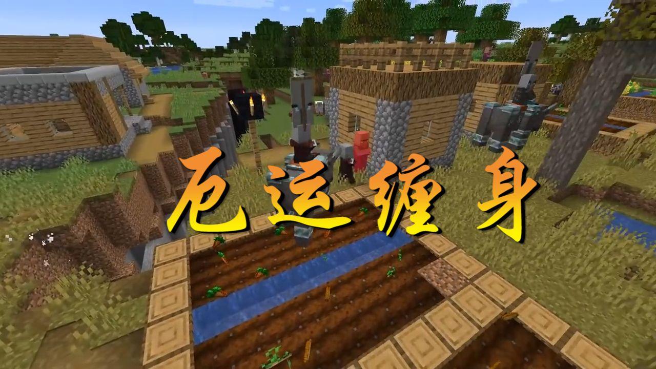 我的世界:击杀掠夺首领会有着厄运降临,这样的BUFF在身,你还敢去村庄?[视频][多图]图片1