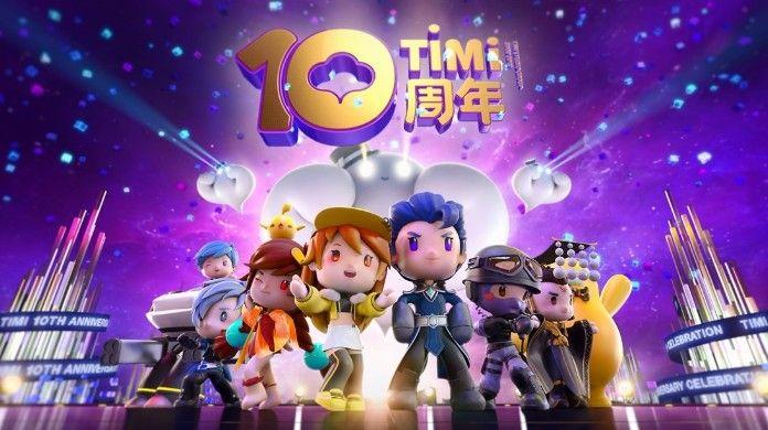 天美十周年CG动画发布:全明星游戏角色齐聚一堂[多图]图片1