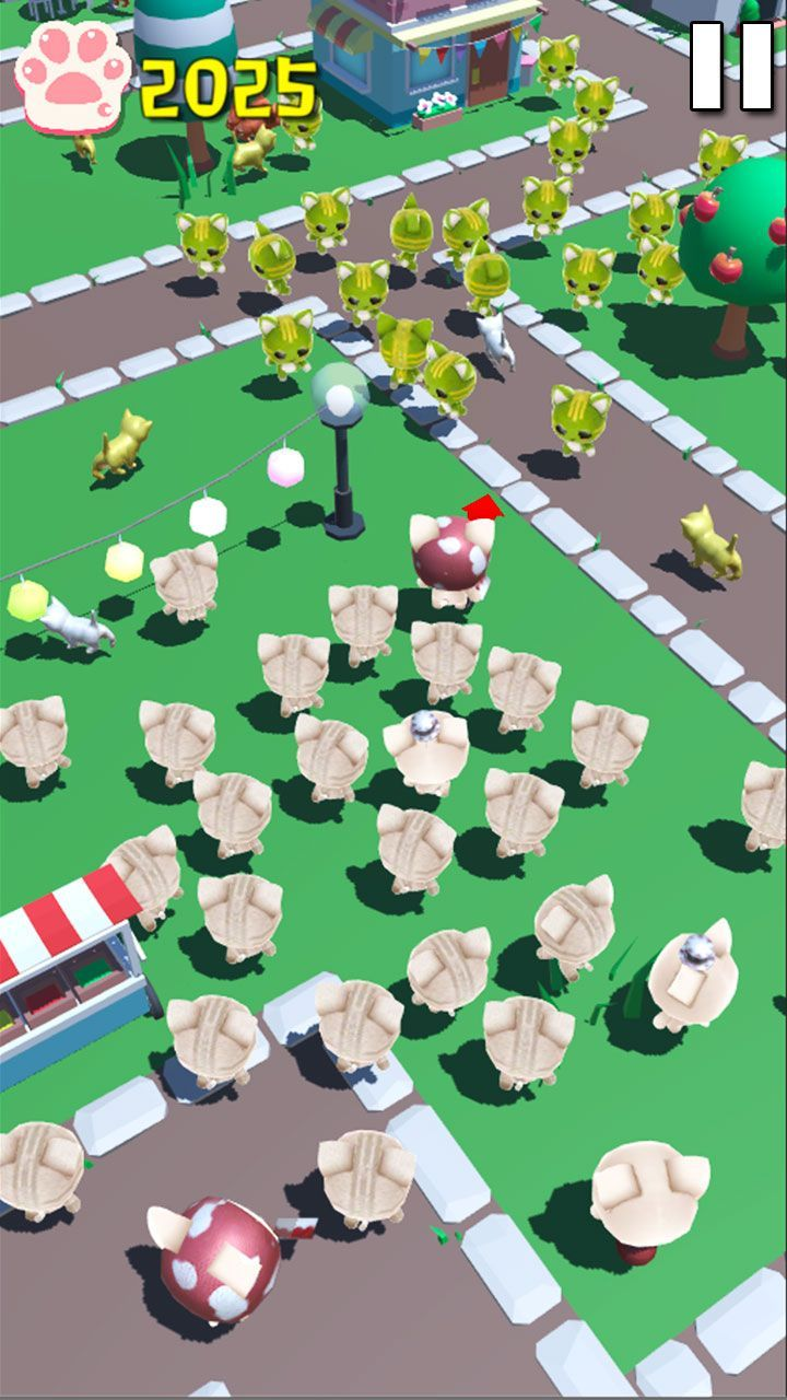 拥挤城市猫猫大作战安卓官方版游戏(cats crowd city)图1: