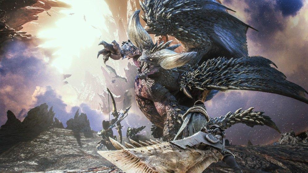 怪物猎人世界中文版游戏下载免装版图片1