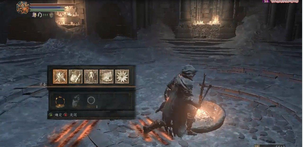 黑暗之魂3法师开局08:法兰要塞流程解说,魔法与刺客的build[视频][多图]图片2