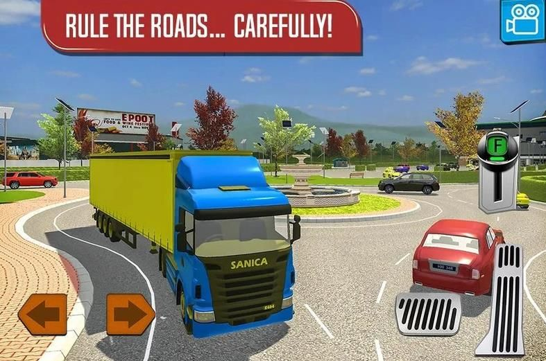 货车模拟器2018中文手机版游戏下载图1:
