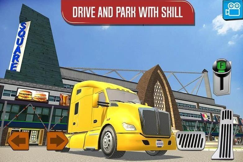 货车模拟器2018中文手机版游戏下载图3: