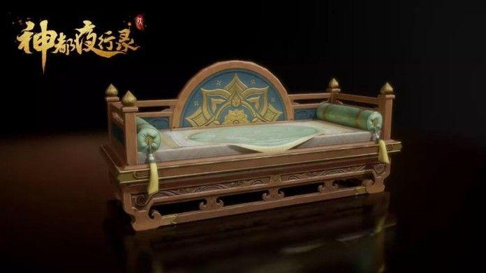 """神都夜行录家园玩法全面升级:""""棠梨映月""""家具设计稿曝光[视频][多图]图片6"""