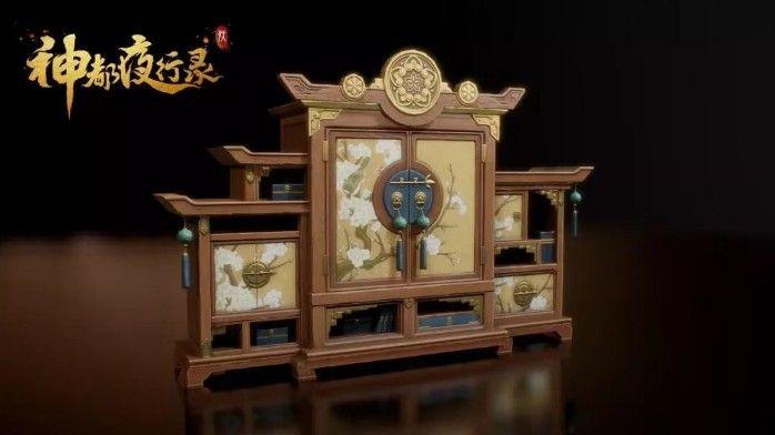 """神都夜行录家园玩法全面升级:""""棠梨映月""""家具设计稿曝光[视频][多图]图片2"""