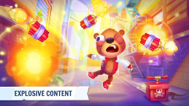 疯狂玩具熊手机游戏免费版下载(Despicable Bear)图4: