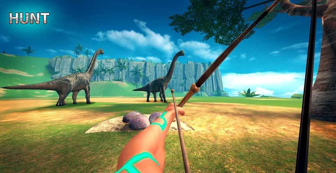 侏罗纪生存岛进化游戏中文汉化版图1: