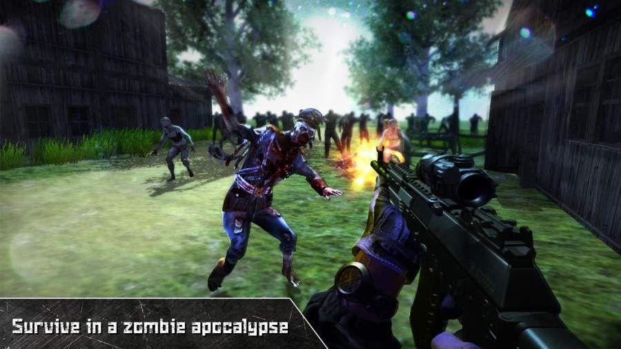 最后死亡之日僵尸狙击手汉化游戏图1