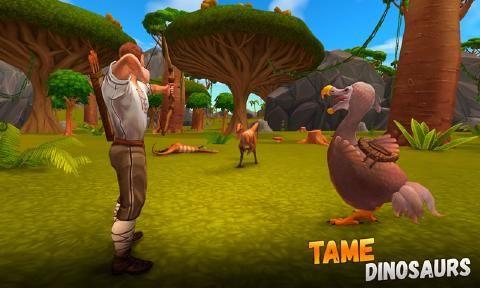 侏罗纪生存岛求生3D安卓游戏最新版官方下载(ARK 2)图2: