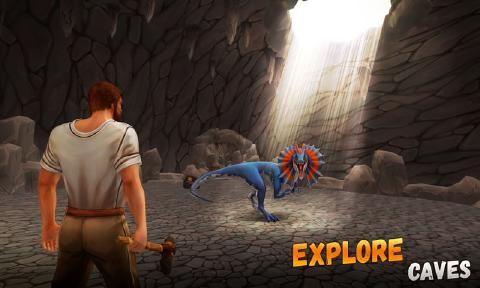 侏罗纪生存岛求生3D安卓游戏最新版官方下载(ARK 2)图1: