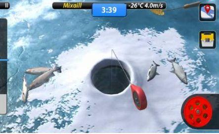 冰面钓鱼安卓手机最新版图1: