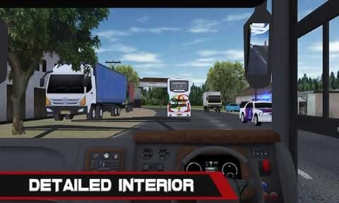 移动巴士模拟游戏官方网站下载安卓版(Mobile Bus Simulator)图2: