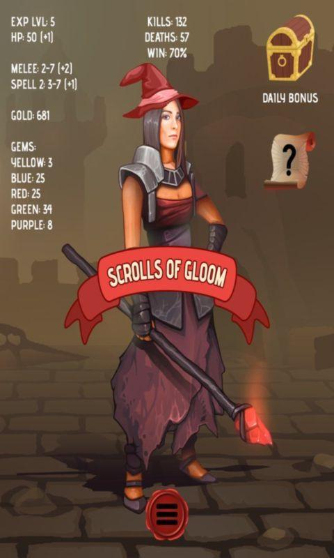 黑暗卷轴游戏最新安卓版下载图1: