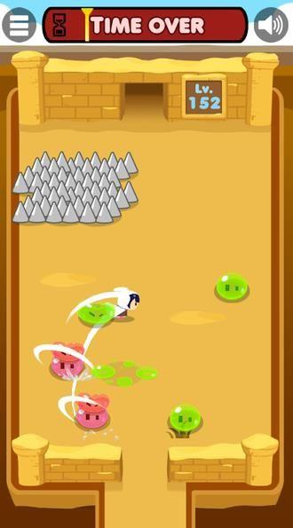 暗杀P某游戏中文手机版下载(Slime Slasher)图2: