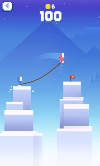 冰冻绳索中文汉化版游戏(icy ropes)图4: