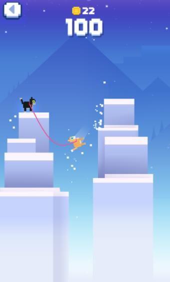 冰冻绳索中文汉化版游戏(icy ropes)图2: