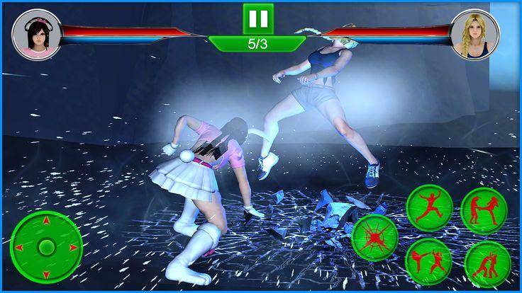 女勇士街头格斗手机游戏最新版下载图1: