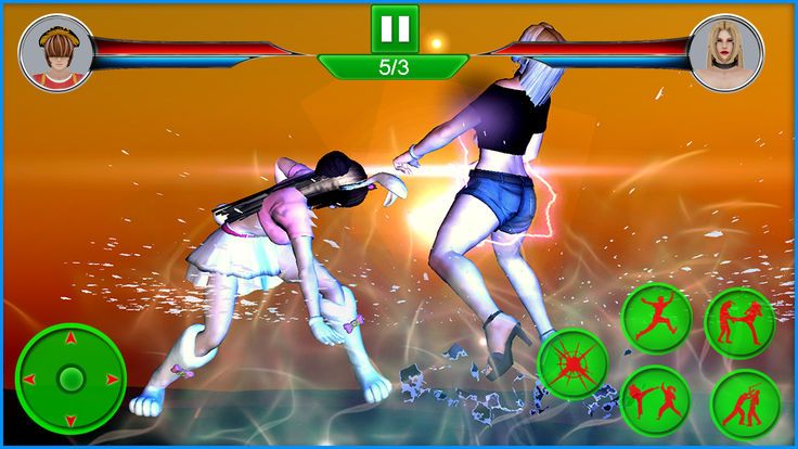 女勇士街头格斗手机游戏最新版下载图5: