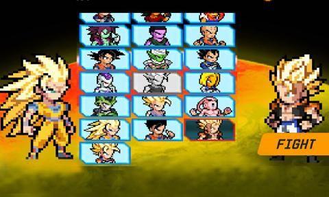 龙珠超级赛亚人游戏安卓版(Dragon SSJ Ball)图1:
